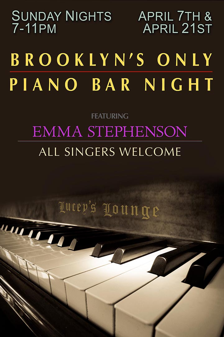 Brookly's Piano Bar Night